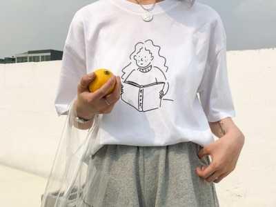 白T恤设计图案 白色t恤