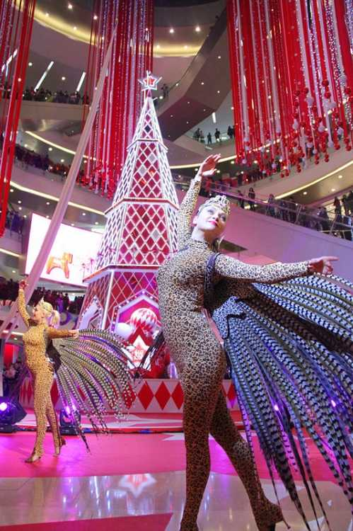 杭州万象城MIXC2014马年跨年狂欢全景呈现 2014杭州跨年