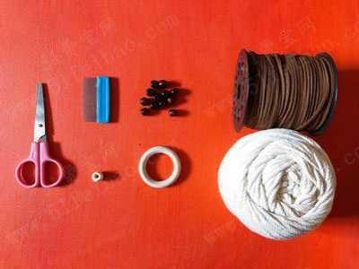 自制Macrame挂毯毛衣链的做图解 毛衣链制作教程