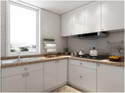 小户型厨房的春天来啦 厨房装修设计