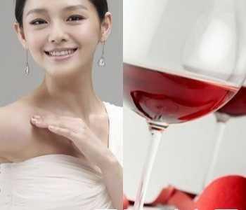 大S分享红酒面膜的做法 大s心红酒面膜