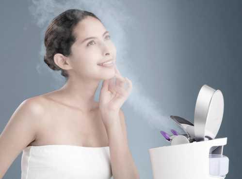 颜值逆天从不去美容院 手工美容和仪器美容