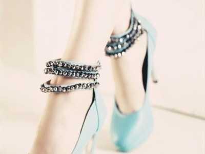 十二星座专属高跟鞋 双鱼座高低跟鞋