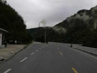 秦岭腹地的佛坪县自然保护区内的污染现况记录 佛坪自然保护区