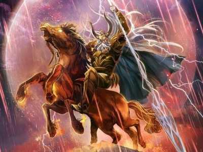 龙族中拥有篡改记忆能力的奥丁 北欧神话龙族