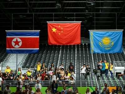 奥运会中国国旗依旧是错误版本 奥运会国旗