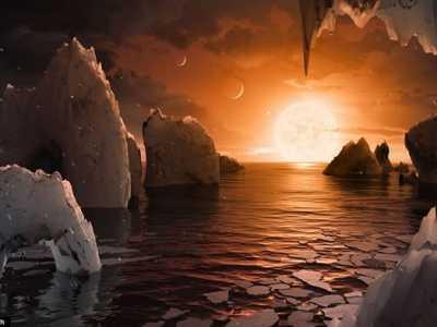水瓶座矮恒星TRAPPIST-1周围发现7颗可能有液态水的行星 水瓶座行星