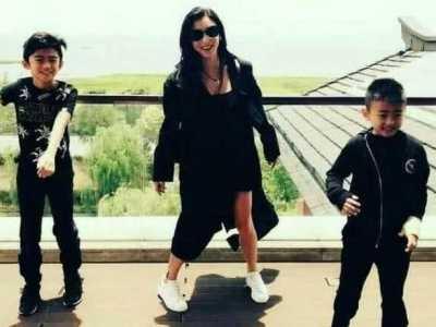 谢霆锋两个儿子近照 谢霆锋儿子最新照片