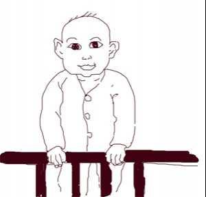 站立篇——宝宝开始站立 6个月宝宝站立