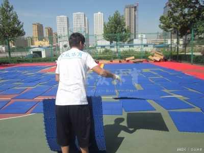 悬浮拼装运动地板的安装基础知识 运动地板固定悬浮式