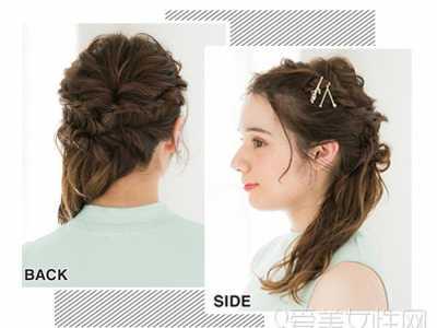 教你美丨学习扎各种发型 学习扎各种简单发型