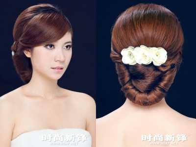 简单韩式新娘传统盘发步骤 韩式新娘发型