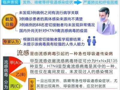 H7N9禽流感传染源暂不详 h1n9