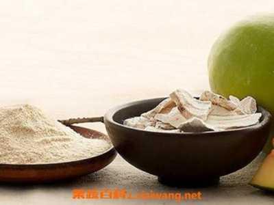 木瓜葛根粉的作用与功效 木瓜粉的作用与功效