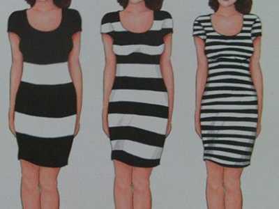 胖女孩可以穿横条纹的衣服吗 适合胖女人穿的衣服