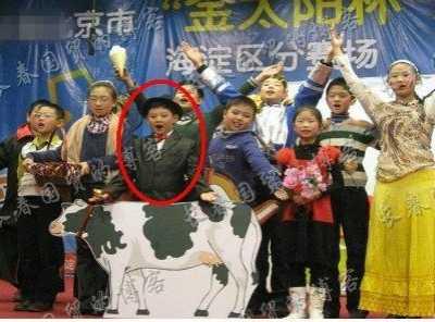 朱军十岁儿子近照曝光 朱思潭