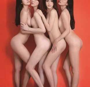 台四嫩模拍全裸写真 刘湘怡