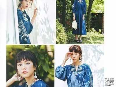 最近日本满大街妹子穿的波西米亚风长裙 波西米亚风格裙子