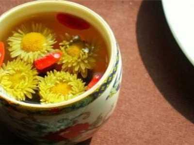 菊花和枸杞能一起泡吗 菊花枸杞茶功效
