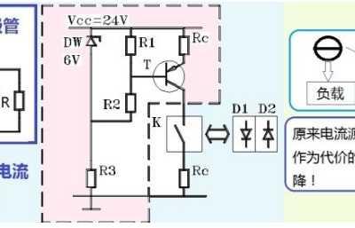 电流源和二极管串联会怎样 电流源激励
