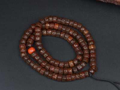 藏区老金刚菩提子佛珠jg054 藏式金刚菩提