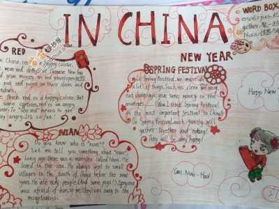 In China在中国英语手抄报图片、资料 英语手抄报的内容