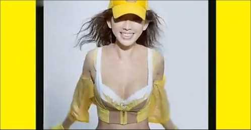 林志玲都市丽人内衣广告合集 林志玲比基尼广告